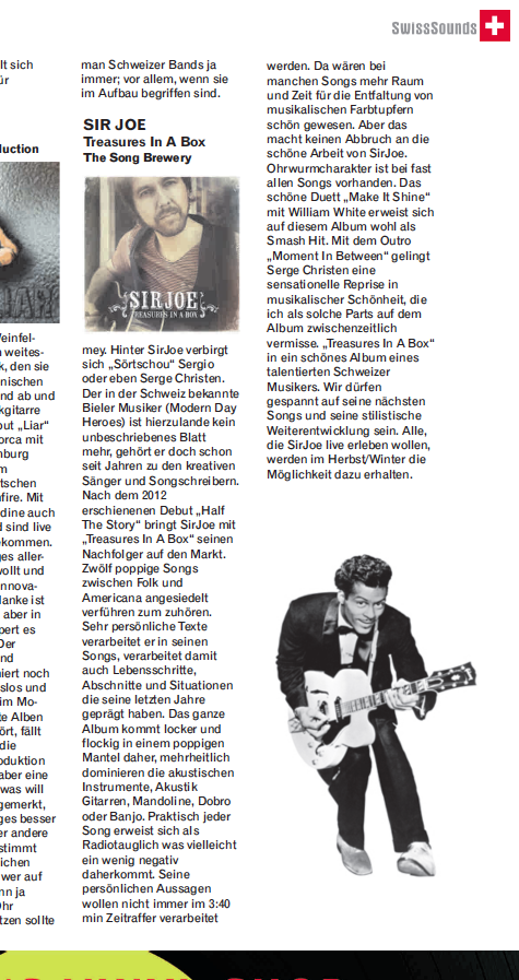 Album Review by Tracks Music Magazin